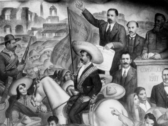 México pos-revolucionario.