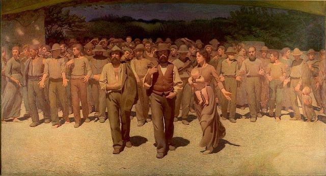Día  Internacional del Trabajo.