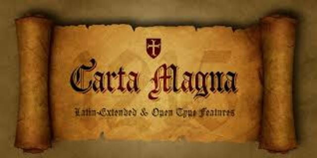 La Carta Magna (Reconoce que los hombres tienen derechos)