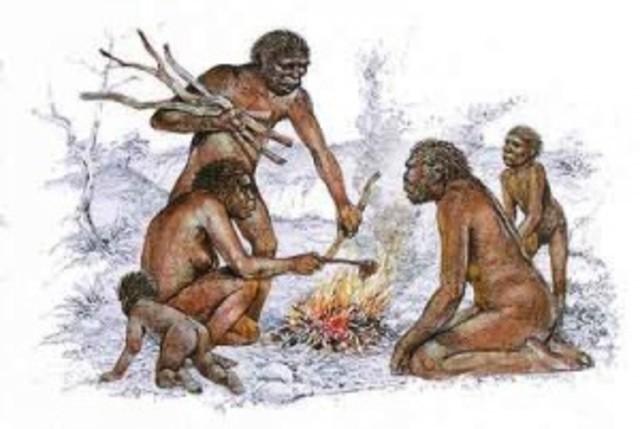 Descubrimiento y uso de fuego