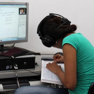 Educación Virtual timeline
