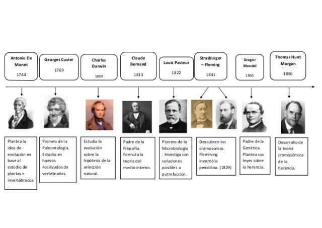 Antecedentes históricos de la Biología