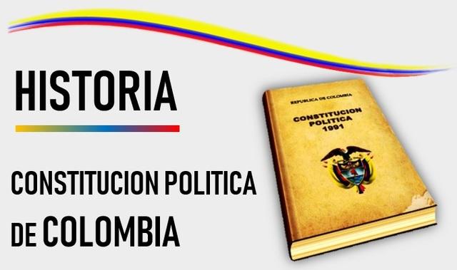 Historia de la constitución política de Colombia