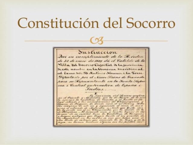 Constitución del Estado Libre E Independiente del Socorro