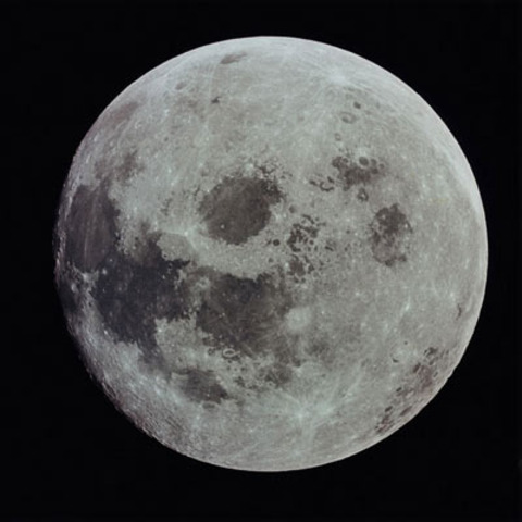 Detailed descriptions of th Moon