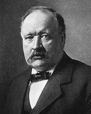 Svante August Arrhenius (1859-1927)