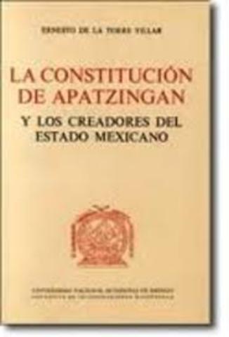 Constitución de Apatzingán.