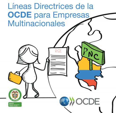 Líneas directrices de la OCDE para empresas multinacionales.