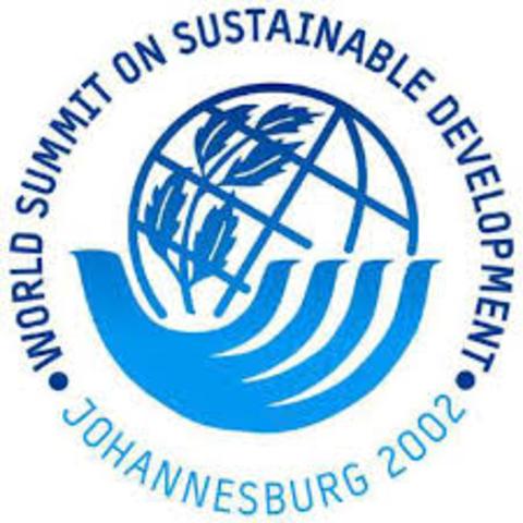 Preparación de la Cumbre Mundial sobre el Desarrollo Sostenible.