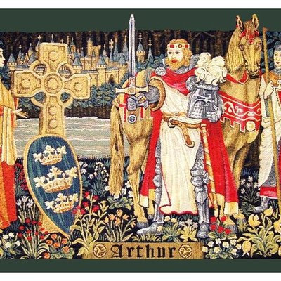 The Legend of a King: Le Morte d' Arthur by Thomas Malory timeline