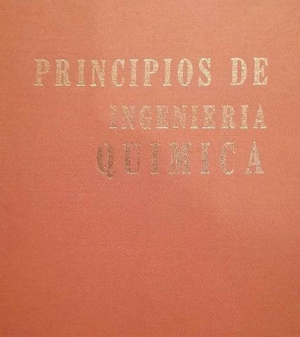 Primer libro de texto de la ingeniería química