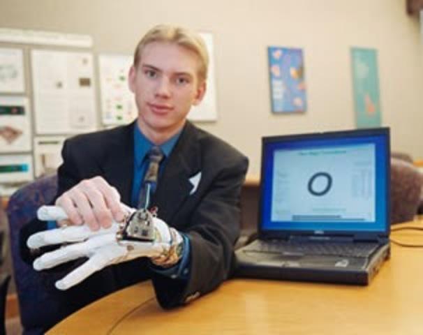 Guante de Braille:  Una herramienta para  los sordomudos