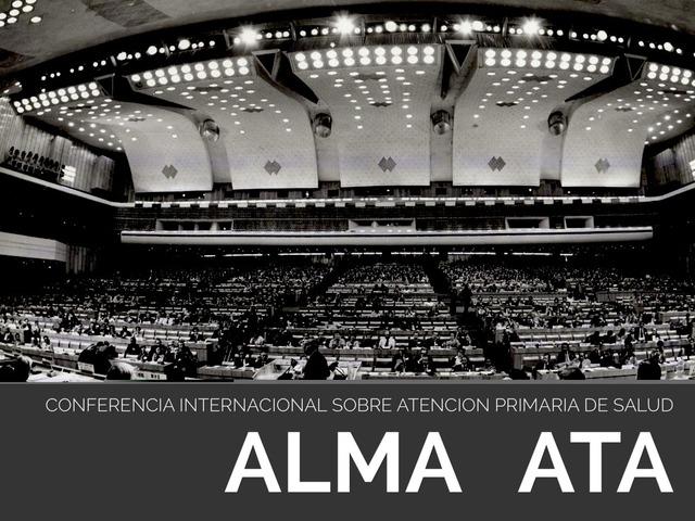 Declaración de Alma-Ata