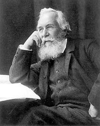 """Ernst Haeckel acuña el termino """"ecologia"""" (Alemania)"""