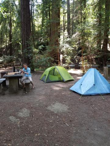 Campsite Image • Greenhorn Mtn Pk? Whitney Portal Pk?