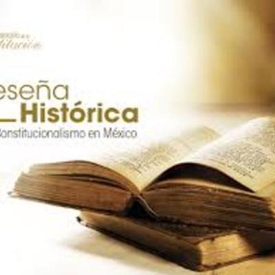 Revisión Historica del Sistema Constitucional Mexicano timeline
