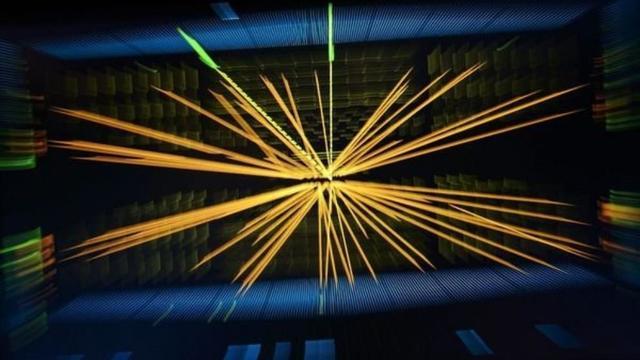 particula de dios(Bosón de Higgs)