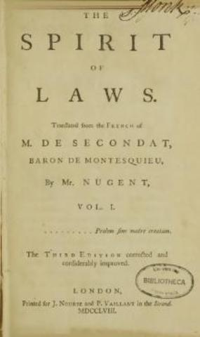 On the Spirit of Laws