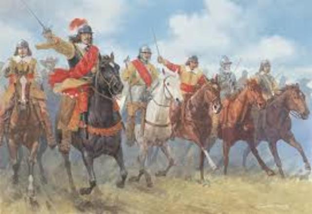 End of English civil war