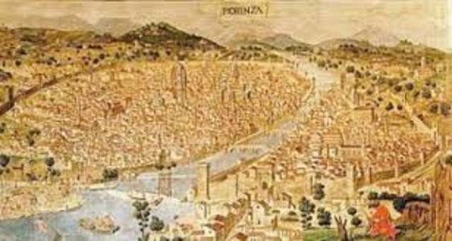 The renaissance began in the intalian city-states and spread to northern europe