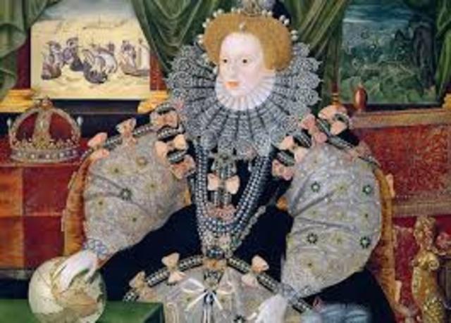 Queen Elizabeth I defeated Philip's II spanish armada