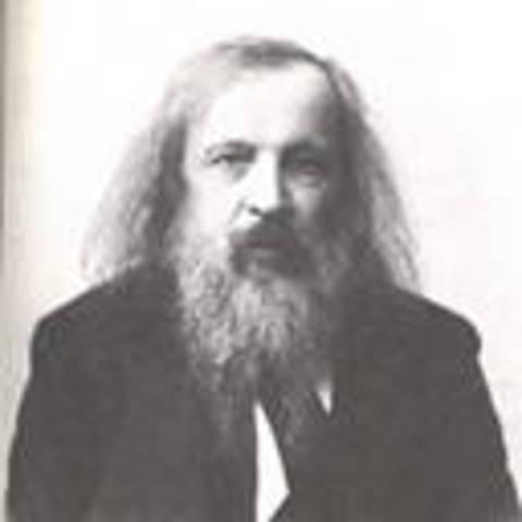 Dmitri Ivanovich Mendeleiev