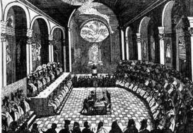 Catholic leaders met at the council of trent