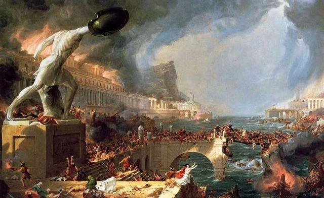 Caída del Imperio Romano (alta Edad Media)