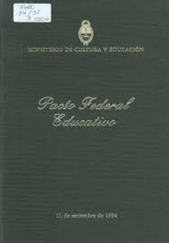 Pacto federal Educativo