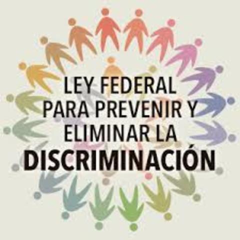 La Ley Federal para Prevenir y Eliminar la Discriminación