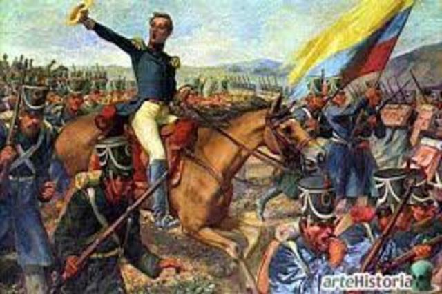 La campaña libertadora 1819