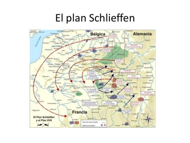 Alemania pone en marcha el plan de Schlieffen