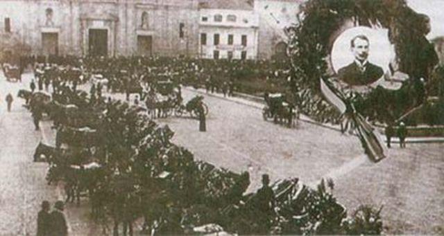 Rafael Uribe Uribe (1910 ) Indemnización a trabajadores
