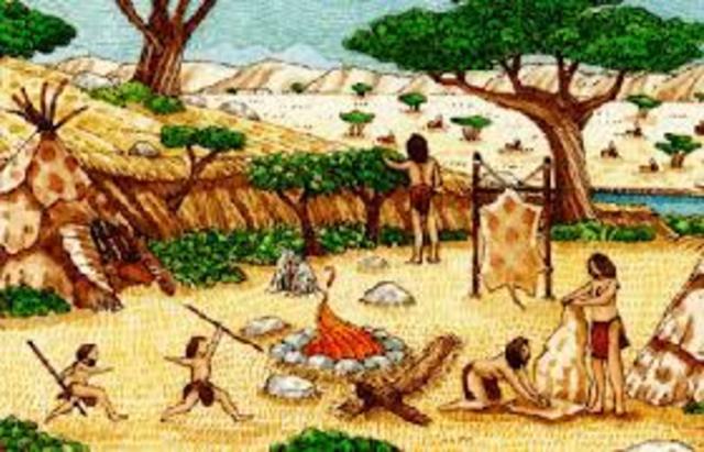 Época Paleolítica-Neolítico (15000) a.C.