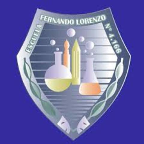 "Sobre Mi escuela // 4-166 ""Fernando Lorenzo"""