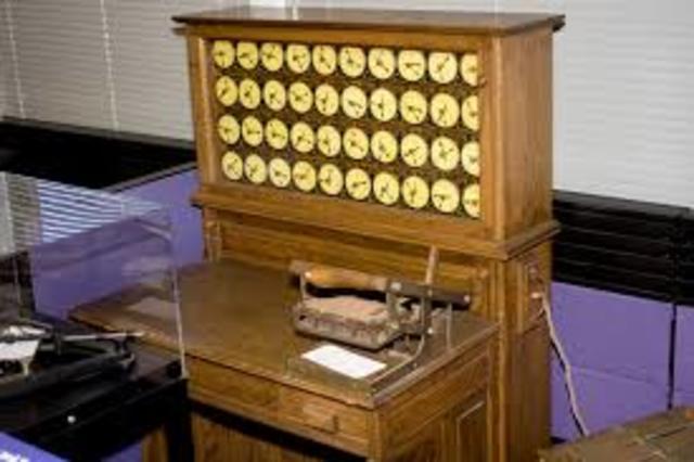 Maquina tabuladora.