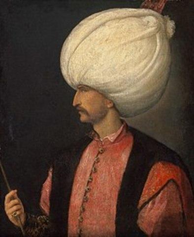 Suleiman 1 rules Ottoman Empire