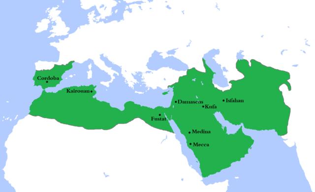 Umayyad established Damascus as capital