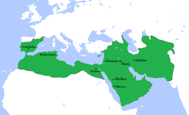 Umayyad established Damascus as capital
