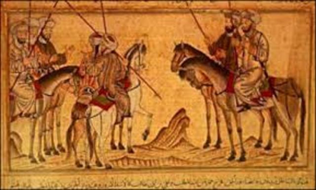Muhammad goes to Madinah