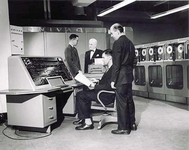 Primera institucion en usar computadora en RD