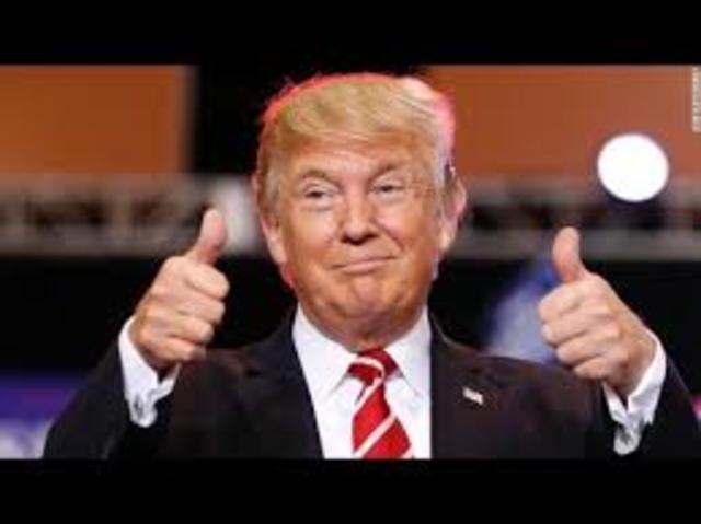 Trump llega a la presidencia