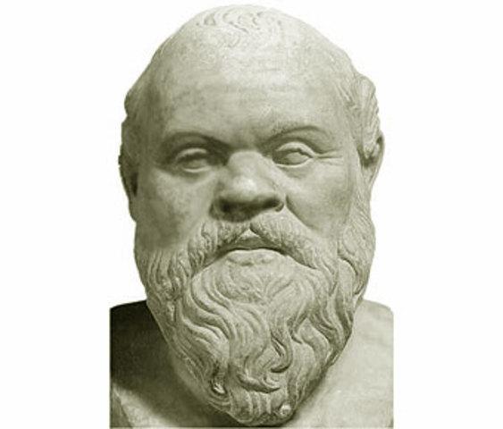 Sócrates. (470 a.C-399 a.C)