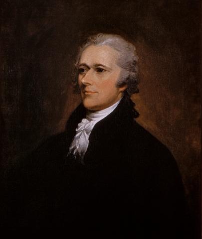 Alexander Hamilton 1801 d.C