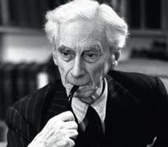 Bertrand Russell 1890 d.C