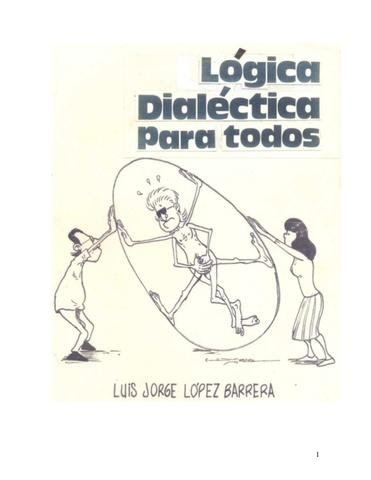 Lógica Dialéctica.