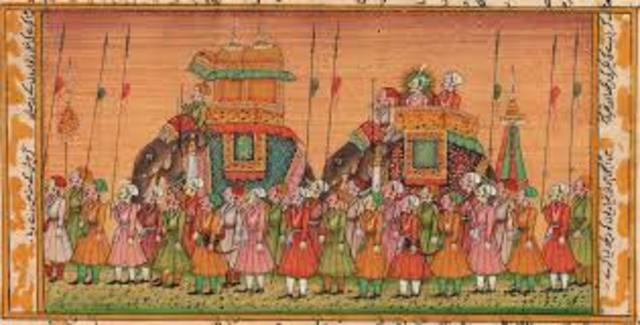 The Mughal Empire began in Northern India