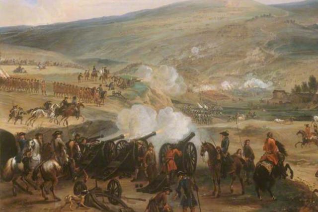 La bataille de la Boyne