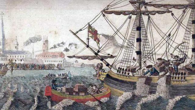"""Tea Party"""" à Boston"""