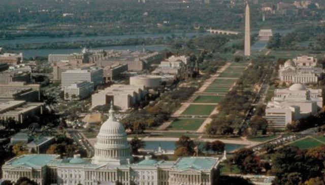 Inauguration de la capitale fédérale : Washington